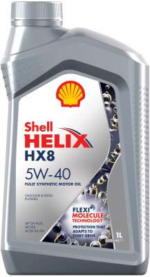 Shell Helix HX8 Synthetic 5W-40
